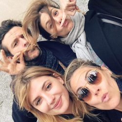 Amaia Salamanca, Miriam Giovanelli, Manuela Velasco y Diego Martín: reencuentro 'Velvet'