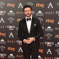 Diego Martin en la alfombra roja de los Premios Goya 2017