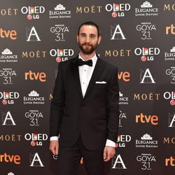 Dani Rovira en la alfombra roja de los Premios Goya 2017