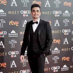 Canco Rodríguez en la alfombra roja de los Premios Goya 2017