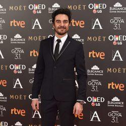 José Manuel Seda en la alfombra roja de los Premios Goya 2017