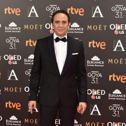 Luis Callejo en la alfombra roja de los Premios Goya 2017