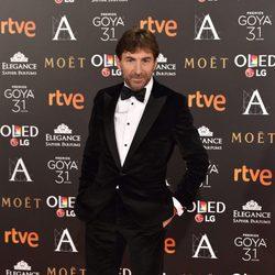 Antonio de la Torre en la alfombra roja de los Premios Goya 2017