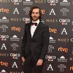 Marc Clotet en la alfombra roja de los Premios Goya 2017