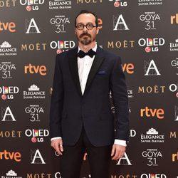 Fele Martínez en la alfombra roja de los Premios Goya 2017