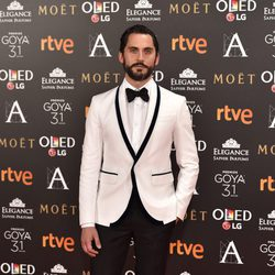Paco León en la alfombra roja de los Premios Goya 2017