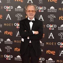 Fernando Colomo en la alfombra roja de los Premios Goya 2017