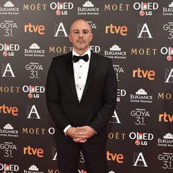 Roberto Álamo en la alfombra roja de los Premios Goya 2017