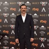 Nacho Fresneda en la alfombra roja de los Premios Goya 2017