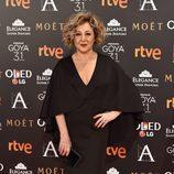 Carmen Machi en la alfombra de los Premios Goya 2017