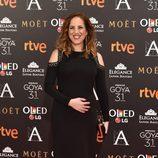Celia de Molina en la alfombra roja de los Premios Goya 2017
