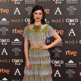 Bárbara Lennie en la alfombra roja de los Premios Goya 2017