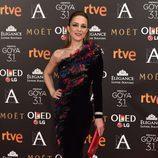 Silvia Abascal en la alfombra roja de los Premios Goya 2017