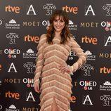 Silvia Alonso en la alfombra roja de los Premios Goya 2017