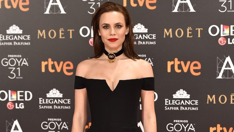 Aura Garrido en la alfombra roja de los Premios Goya 2017º