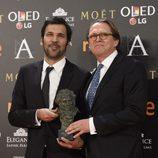 Enrique Costa ganador del Goya a Mejor Película Europea