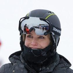 La Reina Letizia en la estación de esquí de Astún