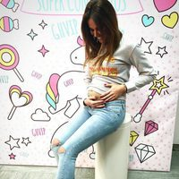 Lara Álvarez 'luciendo' embarazo en 'GHVIP5'