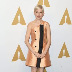 Michelle Williams en el almuerzo de los nominados a los Oscar 2017