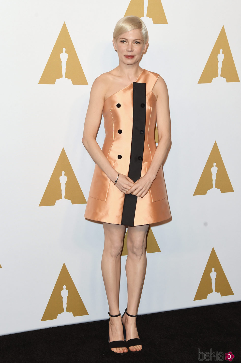 Michelle Williams en el almuerzo de los nominados a los Oscar 2017