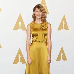 Laura Dern en el almuerzo de los nominados a los Oscar 2017