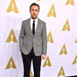 Ryan Gosling en el almuerzo de los nominados a los Oscar 2017