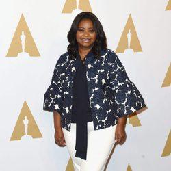 Octavia Spencer en el almuerzo de los nominados a los Oscar 2017