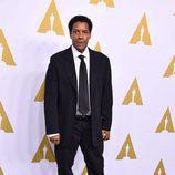 Denzel Washington en el almuerzo de los nominados a los Oscar 2017