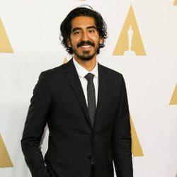 Dev Patel en el almuerzo de los nominados a los Oscar 2017