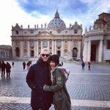 Beatriz y Rodrigo ('GH 17')  disfrutando de su viaje a Roma
