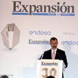 El Rey Felipe da un discurso en el 30 aniversario de Expansión