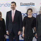 Los Reyes Felipe y Letizia en el 30 aniversario de Expansión