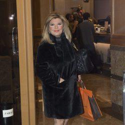 Terelu Campos en el cumpleaños de Kike Calleja