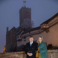 Los Reyes de Holanda en el Castillo de Wartburg