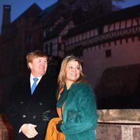 Guillermo Alejandro y Máxima de Holanda visitan el Castillo de Wartburg durante su viaje oficial a Alemania