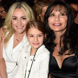 Jamie Lynn Spears con su madre y su hija, Maddie Aldridge, en los Billboard Music Awards 2016
