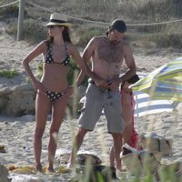 Pau Donés y Eugenia Silva en Formentera