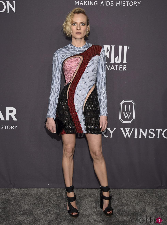 Diane Kruger en la Gala amfAR 2017 en Nueva York