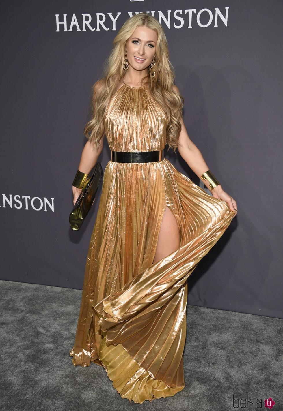 Paris Hilton en la Gala amfAR 2017 en Nueva York