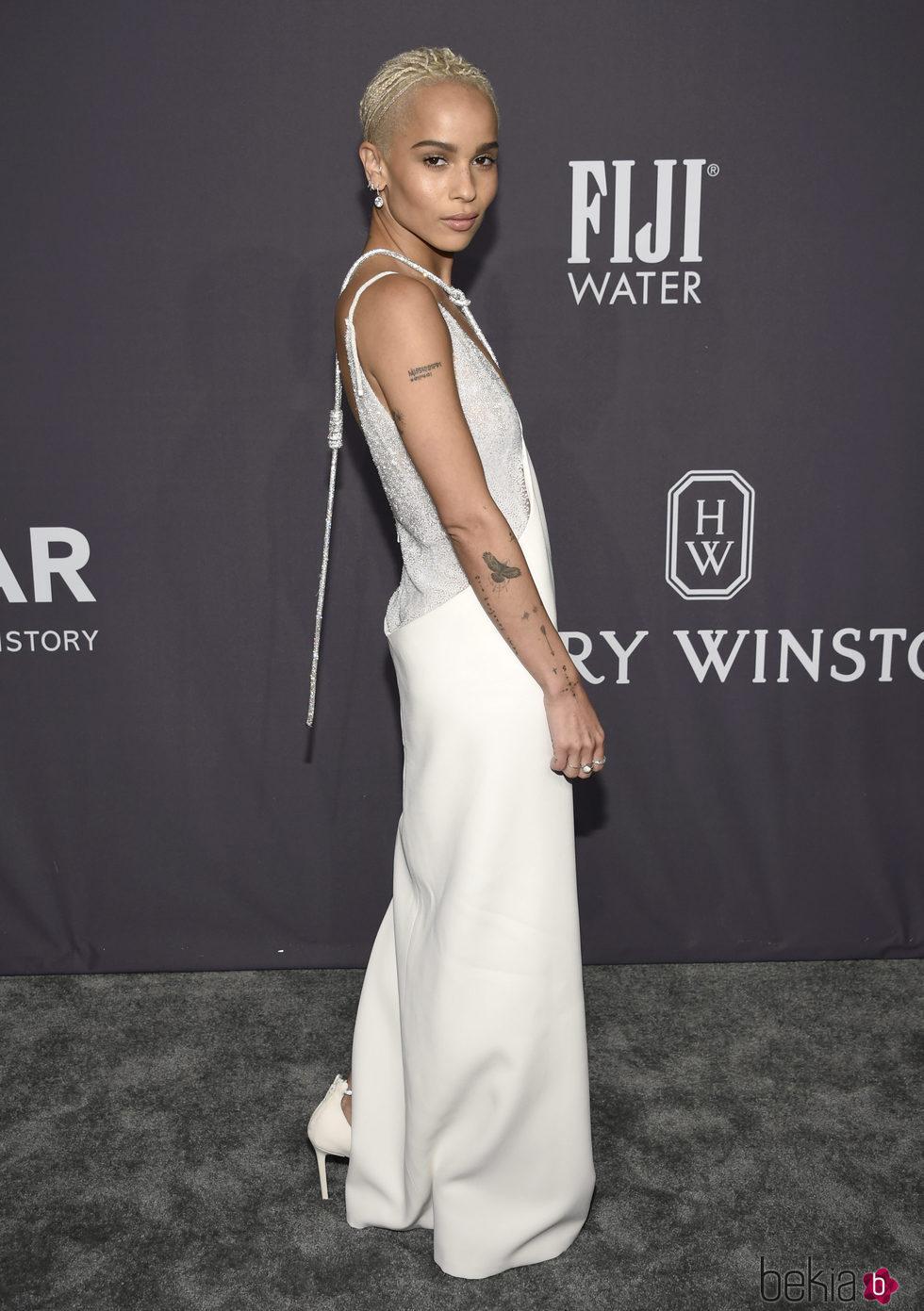 Zoe Kravitz en la Gala amfAR 2017 en Nueva York