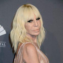 Donatella Versace en la Gala amfAR 2017 en Nueva York