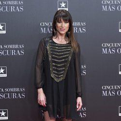 Sonia Ferrer en el estreno de 'Cincuenta Sombras Más Oscuras' en Madrid