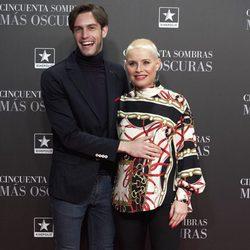 Soraya y Miguel Herrera en el estreno de 'Cincuenta Sombras Más Oscuras' en Madrid