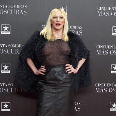 Topacio Fresh en el estreno de 'Cincuenta Sombras Más Oscuras' en Madrid