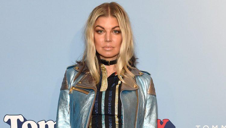 Fergie en el desfile 'Tommyland' de Hilfiguer y Gigi Hadid