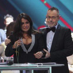 Aída Nizar junto a Jordi González el día de su expulsión en 'GH VIP5'