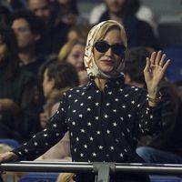 Carmen Lomana en el concierto de Isabel Pantoja en Madrid