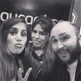 Anabel Pantoja, Chabelita y Kiko Rivera en el concierto de Isabel Pantoja en Madrid