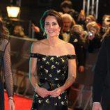 Kate Middleton en la alfombra roja de los Premios Bafta 2017