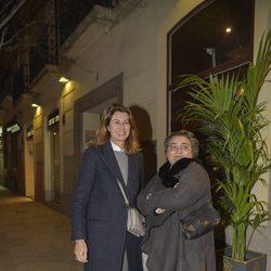 Elena Benarroch y Ana García-Siñeriz en el 63 cumpleaños de Bibiana Fernández